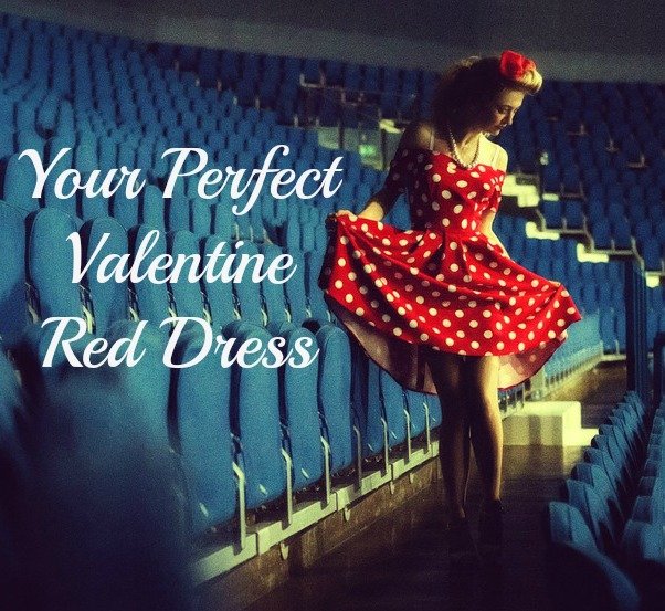 The Perfect Red Dress For Valentine's Day