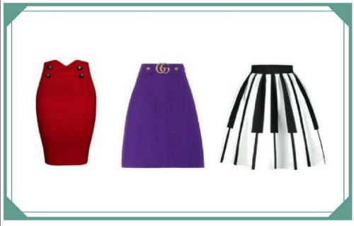 Different skirt shapes