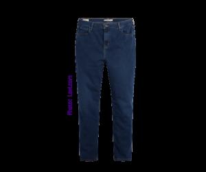 Levi Straight Indigo Denim Jeans women